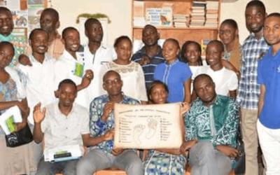 Passage du flambeau du cinquantenaire au Congo