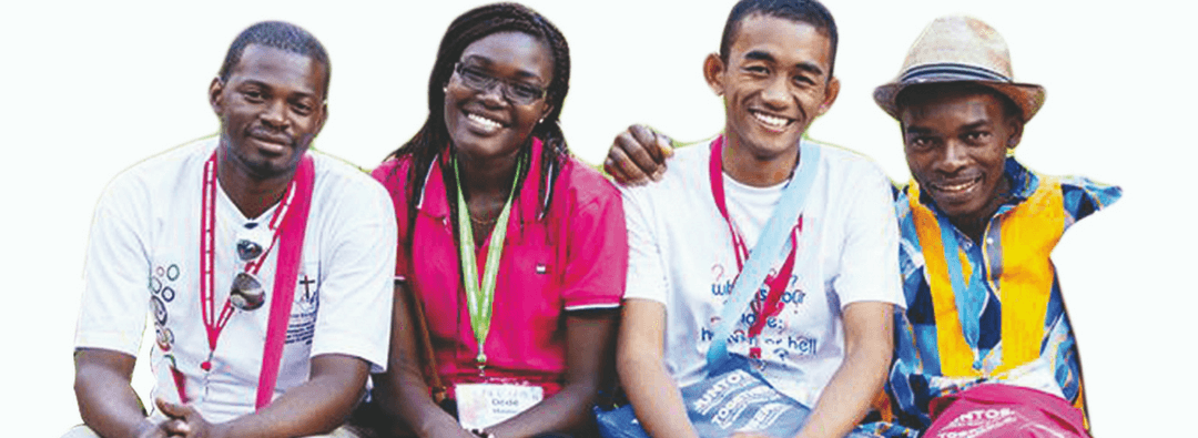 Etudiants à l'Assemblée Mondiale 2019
