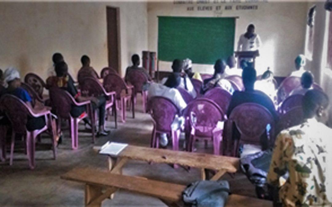 Des élèves et étudiants de l'UJC actifs