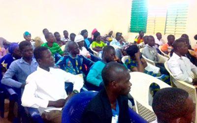 Belle reprise des activités à l'UJC Tchad !
