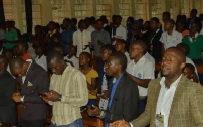 Réunion de prière JME 2018 à Bukavu