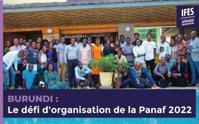 Le défi d'organisation de la Panaf 2022