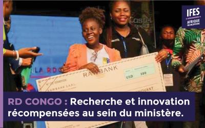 Recherche et innovation récompensées au sein du ministère.